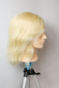 Picture of HAIRDRESSER MEN'S TRAINING DUMMY - REAL HAIR - 613 NO COLOUR -35 CM